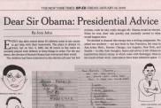 Dear Sir Obama