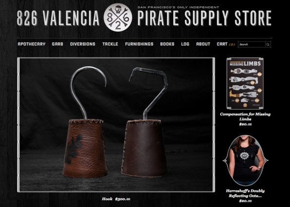 Pirate Supply Store